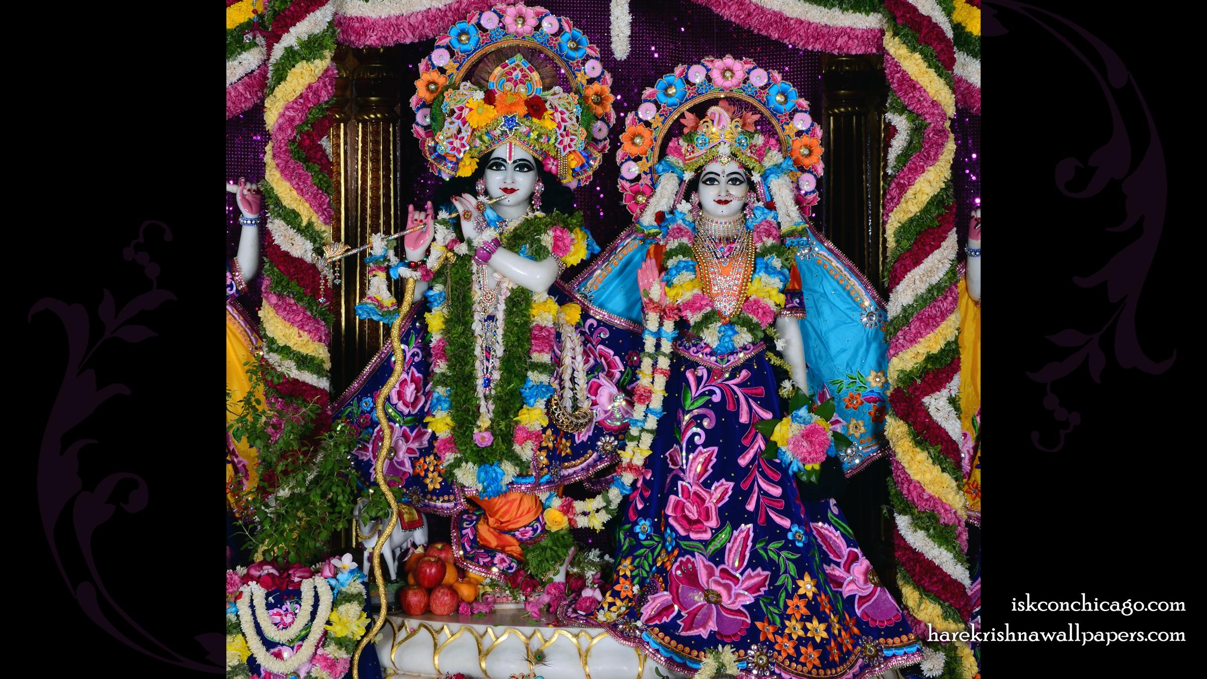 Sri Sri Radha Govinda Wallpaper (007) Size 2400x1350 Download