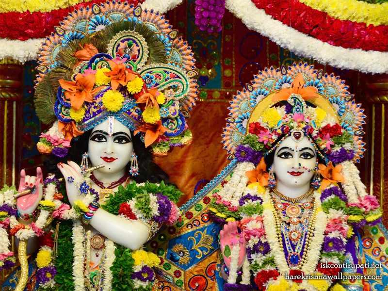 Sri Sri Radha Govinda Close up Wallpaper (007)