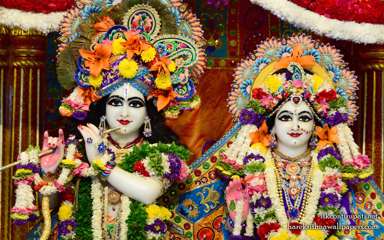 Sri Sri Radha Govinda Close up Wallpaper (007) Size 1280x800 Download
