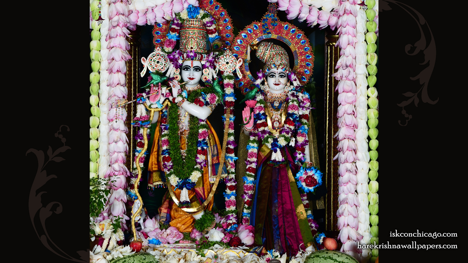 Sri Sri Radha Govinda Wallpaper (008) Size 1600x900 Download