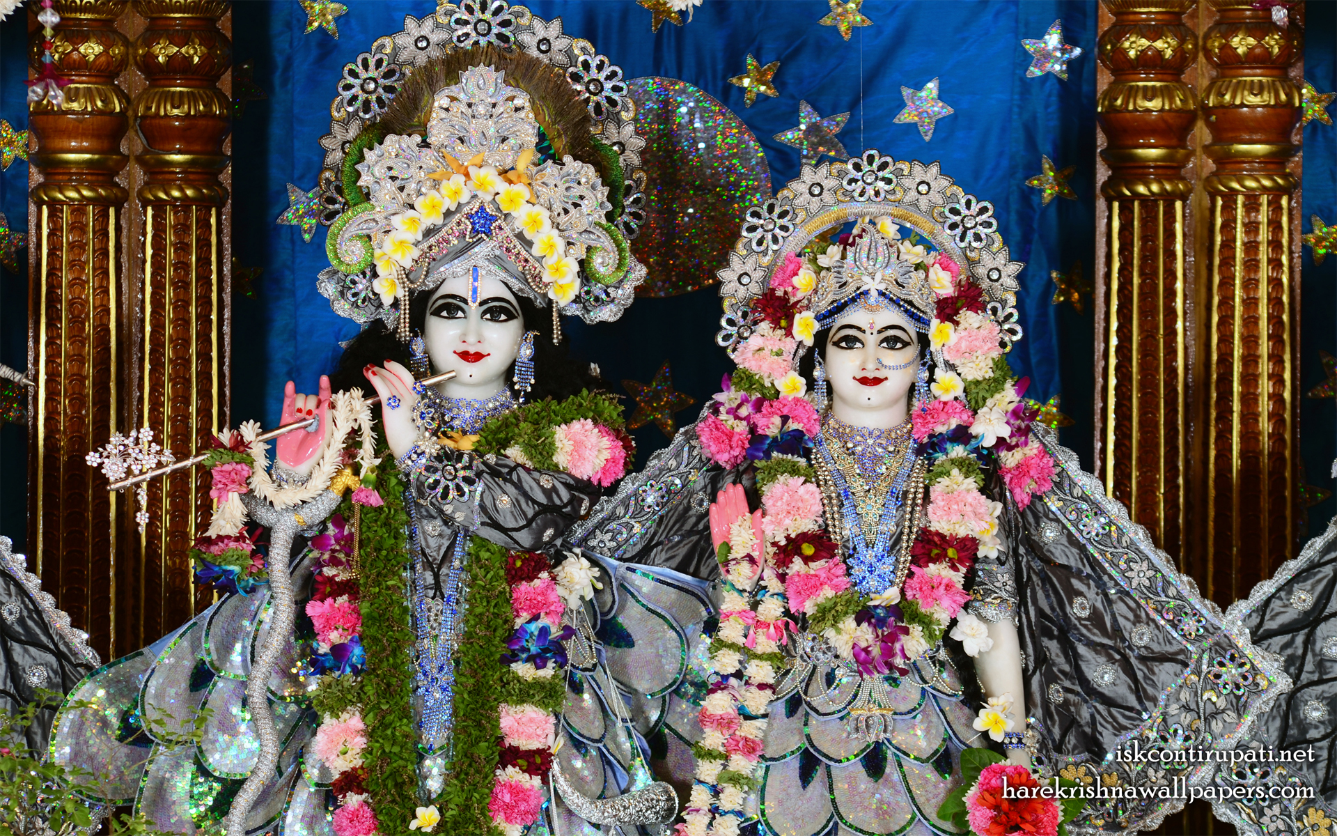 Sri Sri Radha Govinda Close up Wallpaper (008) Size 1920x1200 Download