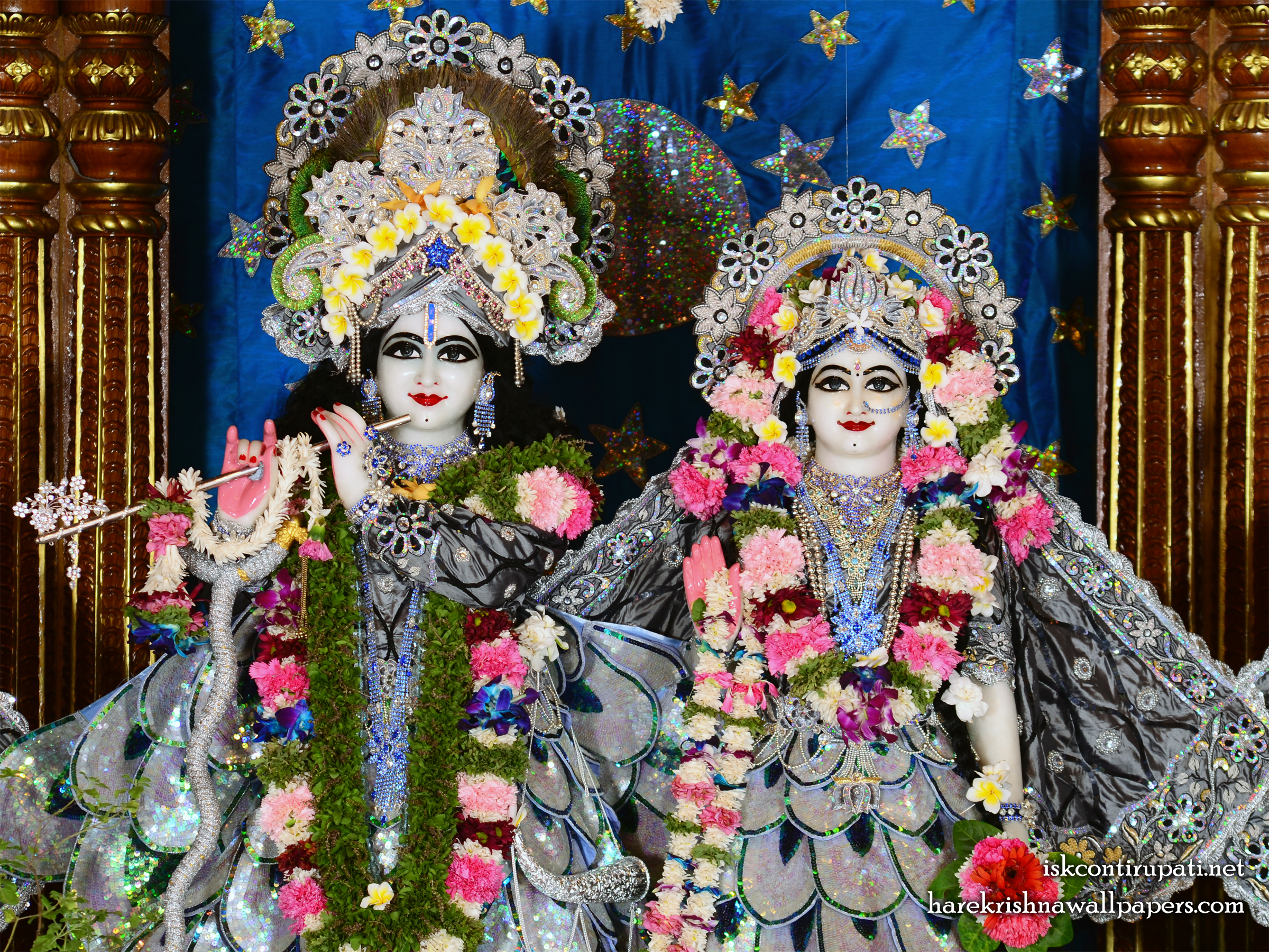 Sri Sri Radha Govinda Close up Wallpaper (008) Size 2400x1800 Download