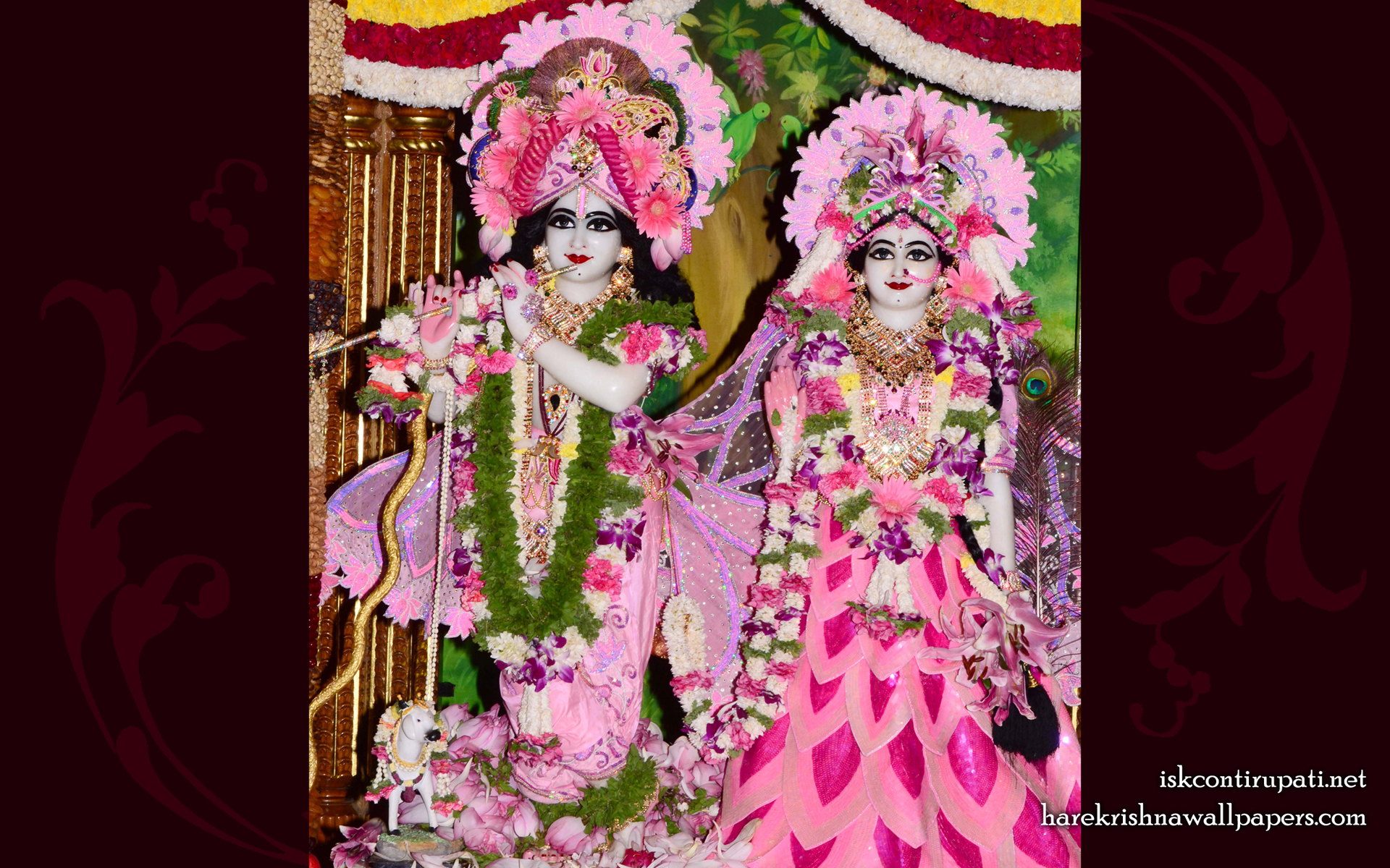 Sri Sri Radha Govinda Wallpaper (009) Size 1920x1200 Download