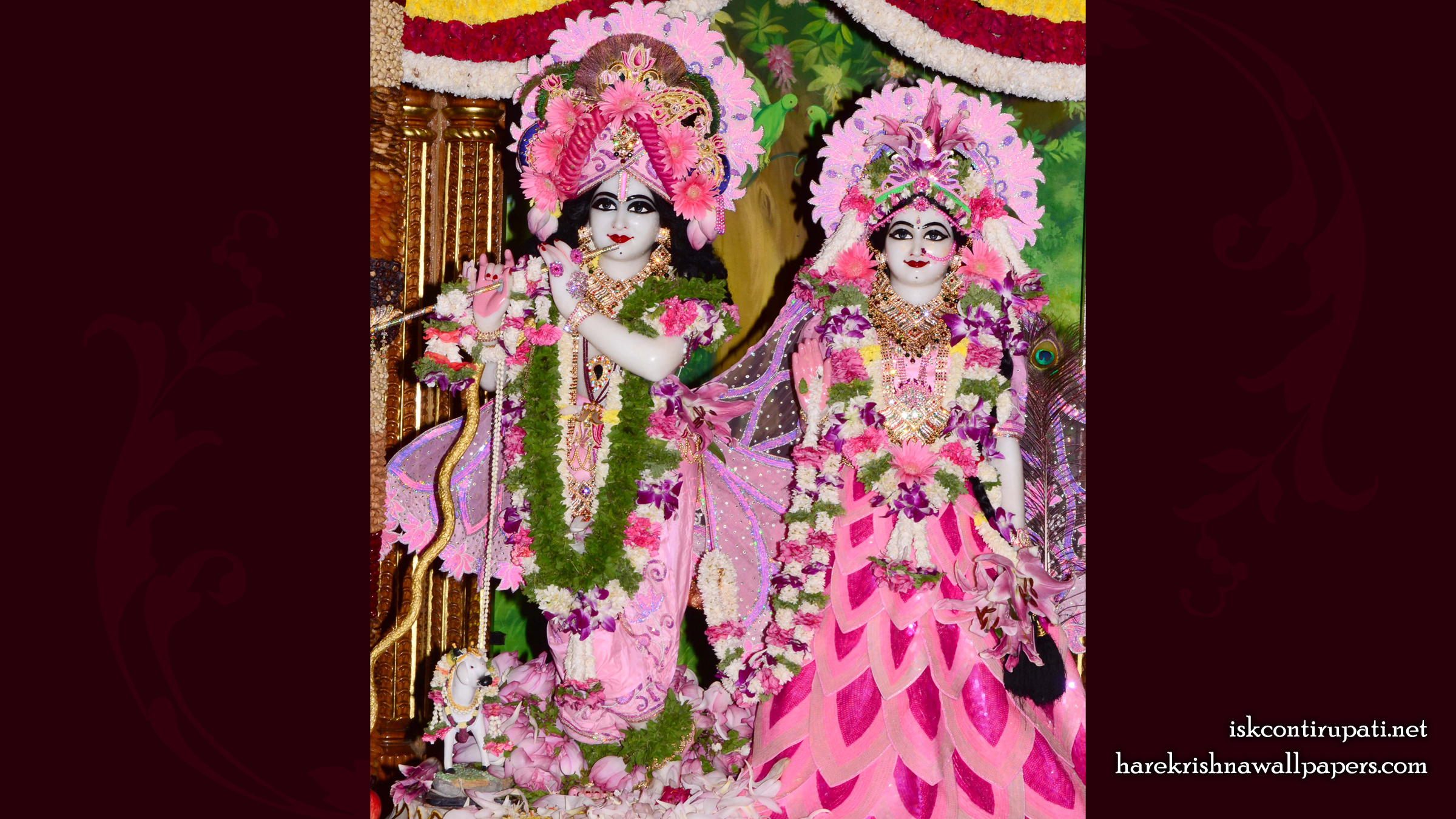 Sri Sri Radha Govinda Wallpaper (009) Size 2400x1350 Download