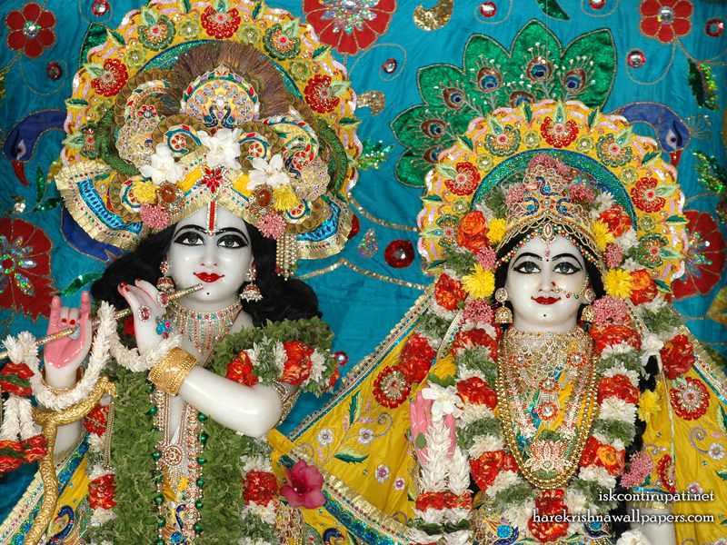 Sri Sri Radha Govinda Close up Wallpaper (009)
