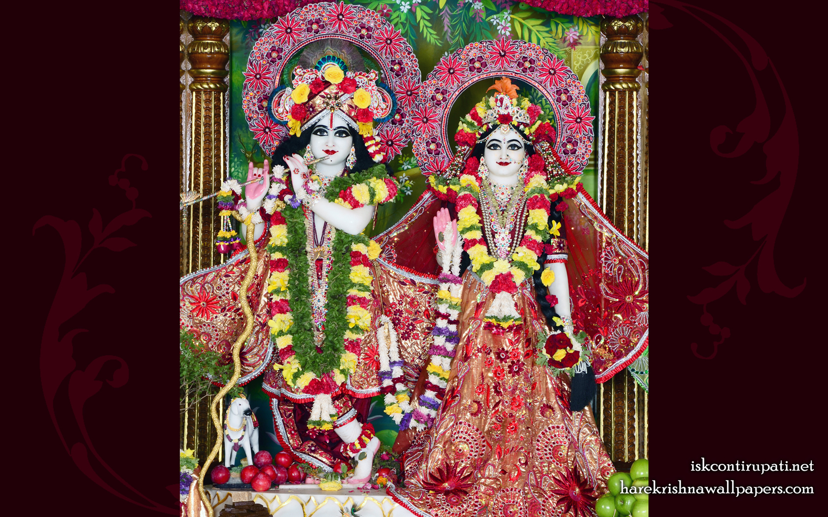 Sri Sri Radha Govinda Wallpaper (010) Size 1680x1050 Download
