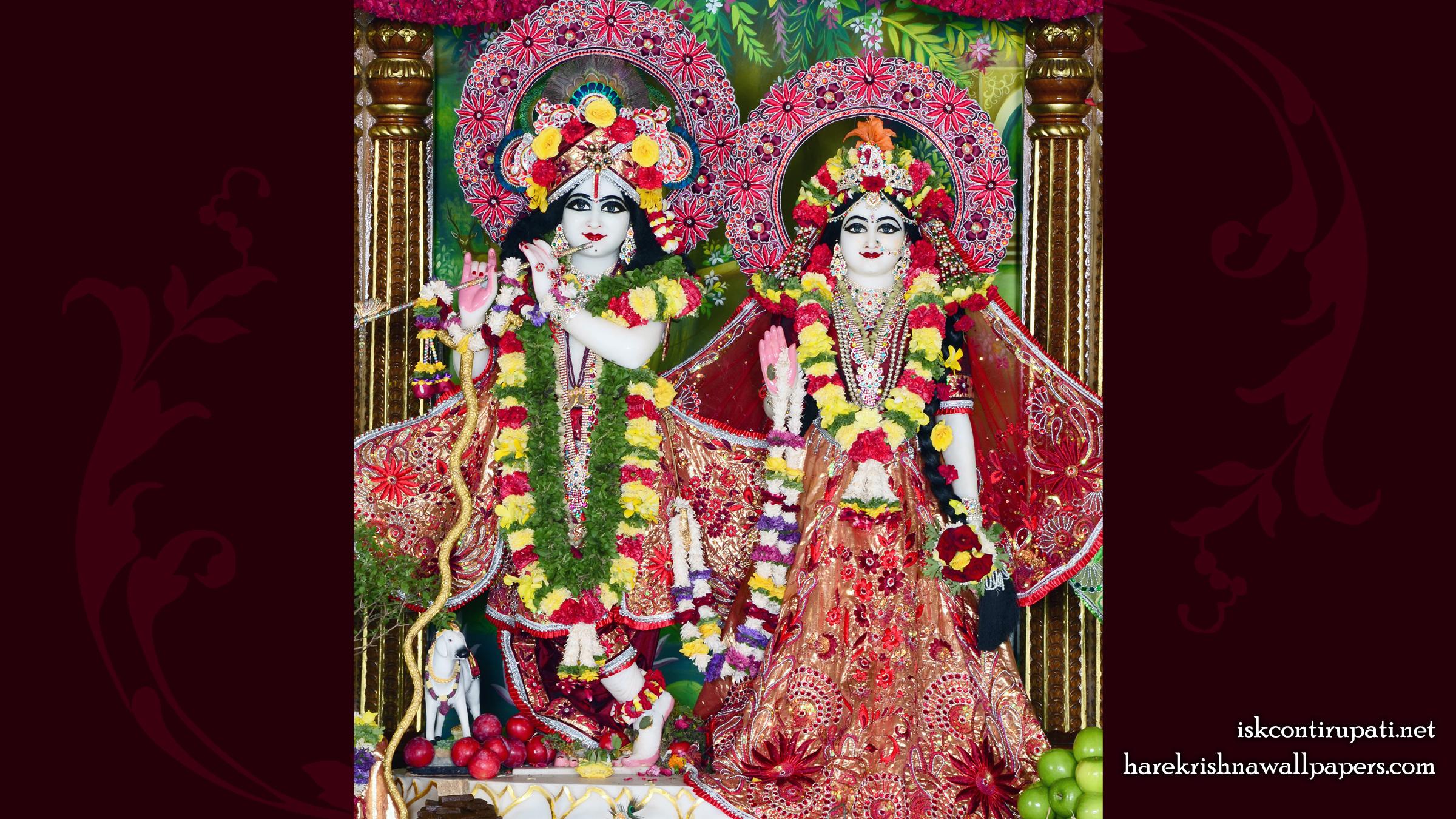 Sri Sri Radha Govinda Wallpaper (010) Size 2400x1350 Download