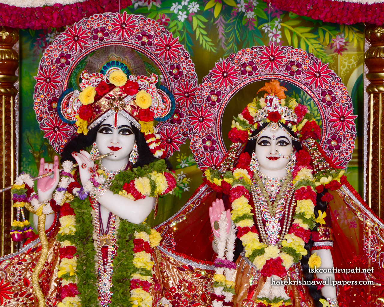 Sri Sri Radha Govinda Close up Wallpaper (010) Size 1280x1024 Download