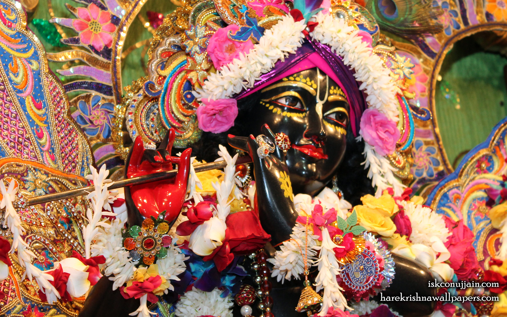 Sri Madanmohan Close up Wallpaper (001) Size 1680x1050 Download