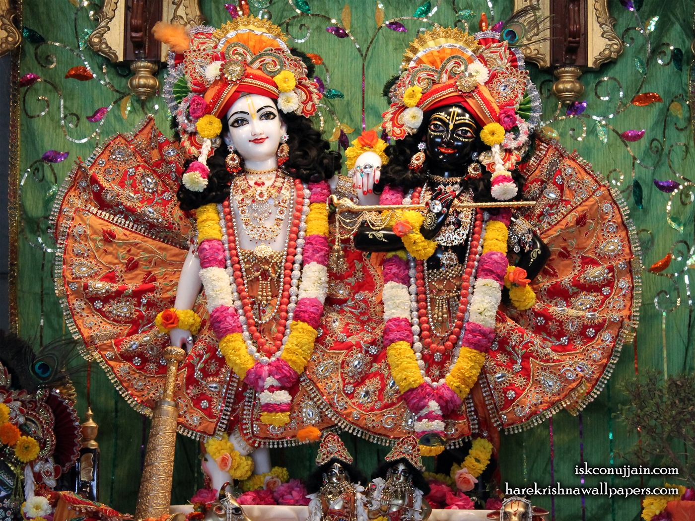 Sri Sri Krishna Balaram Wallpaper (001) Size 1400x1050 Download