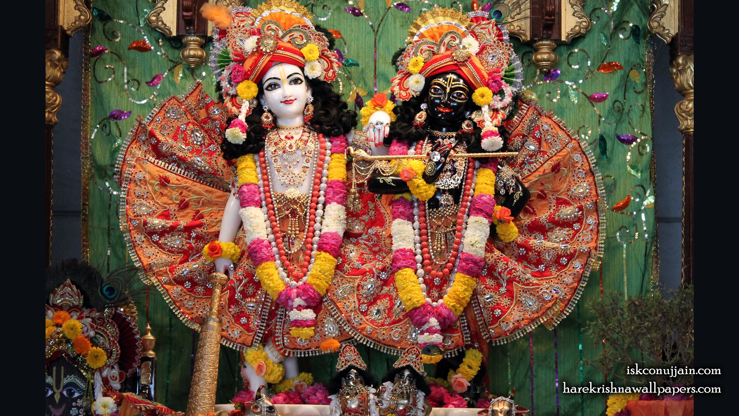 Sri Sri Krishna Balaram Wallpaper (001) Size 2400x1350 Download