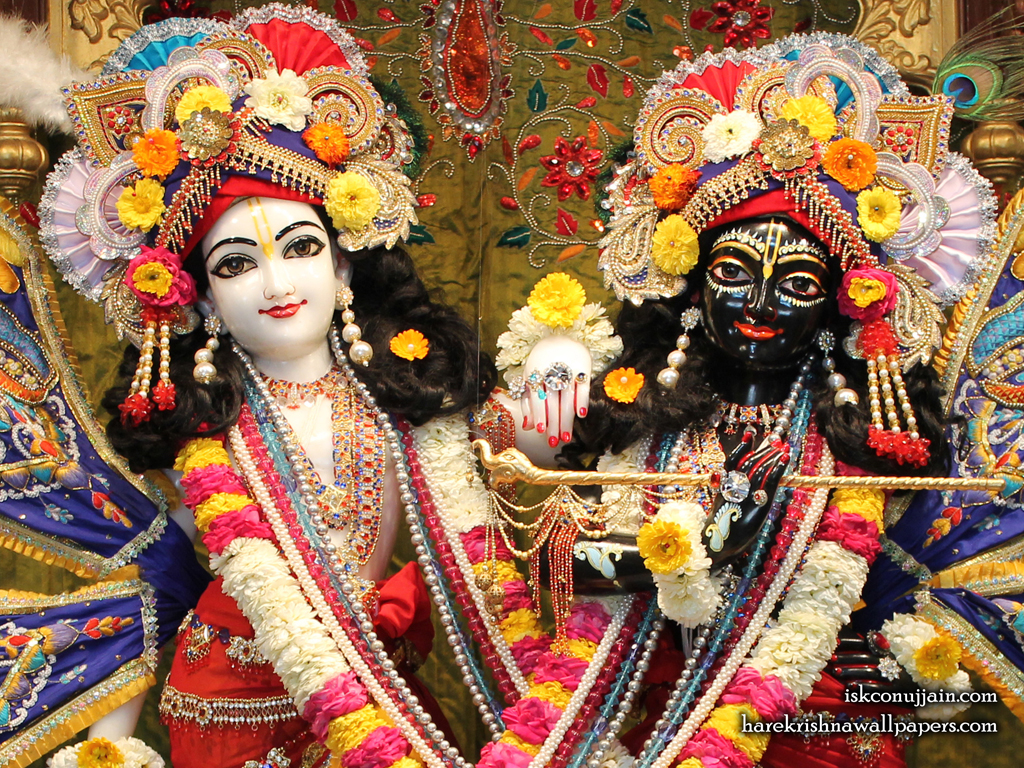 Sri Sri Krishna Balaram Close up Wallpaper (001) Size 1024x768 Download