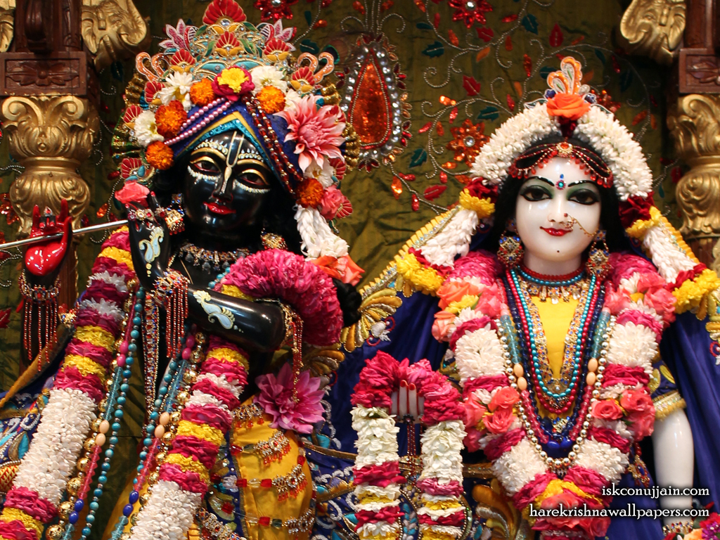 Sri Sri Radha Madanmohan Close up Wallpaper (001) Size 1024x768 Download