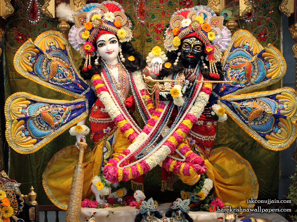 Sri Sri Krishna Balaram Wallpaper (002) Size 1152x864 Download
