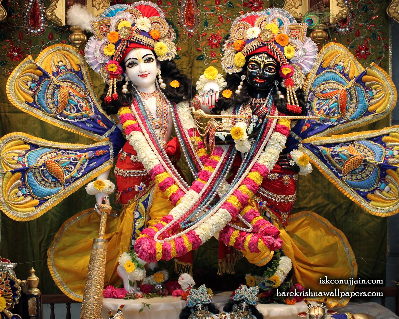 Sri Sri Krishna Balaram Wallpaper (002) Size 1280x1024 Download