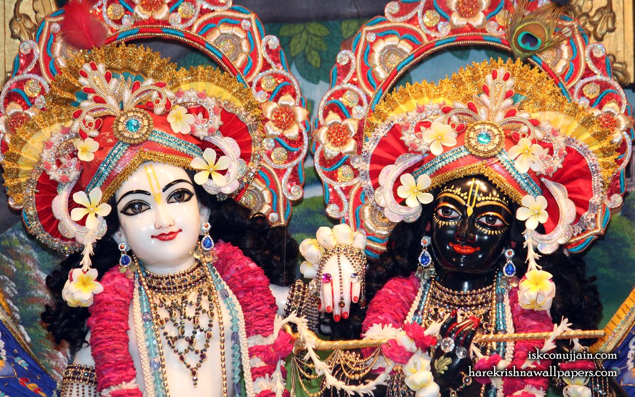 Sri Sri Krishna Balaram Close up Wallpaper (002) Size 1280x800 Download