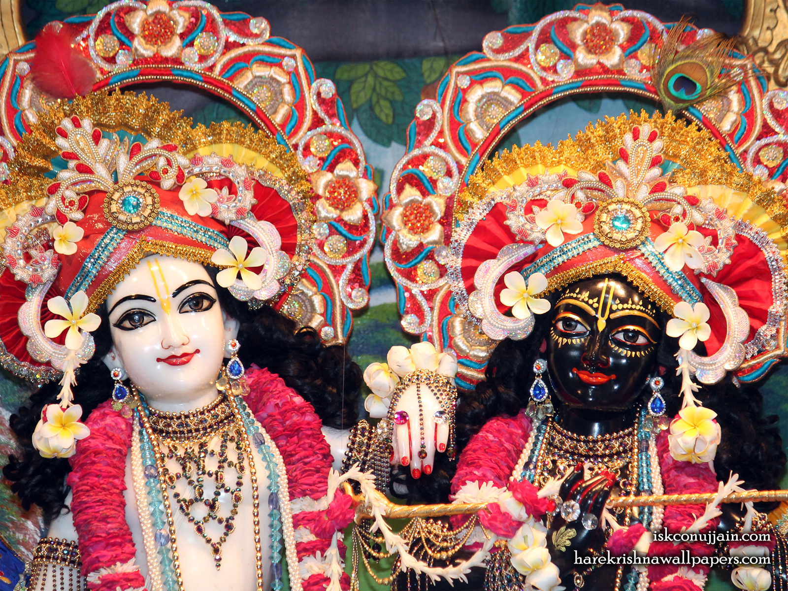 Sri Sri Krishna Balaram Close up Wallpaper (002) Size1600x1200 Download