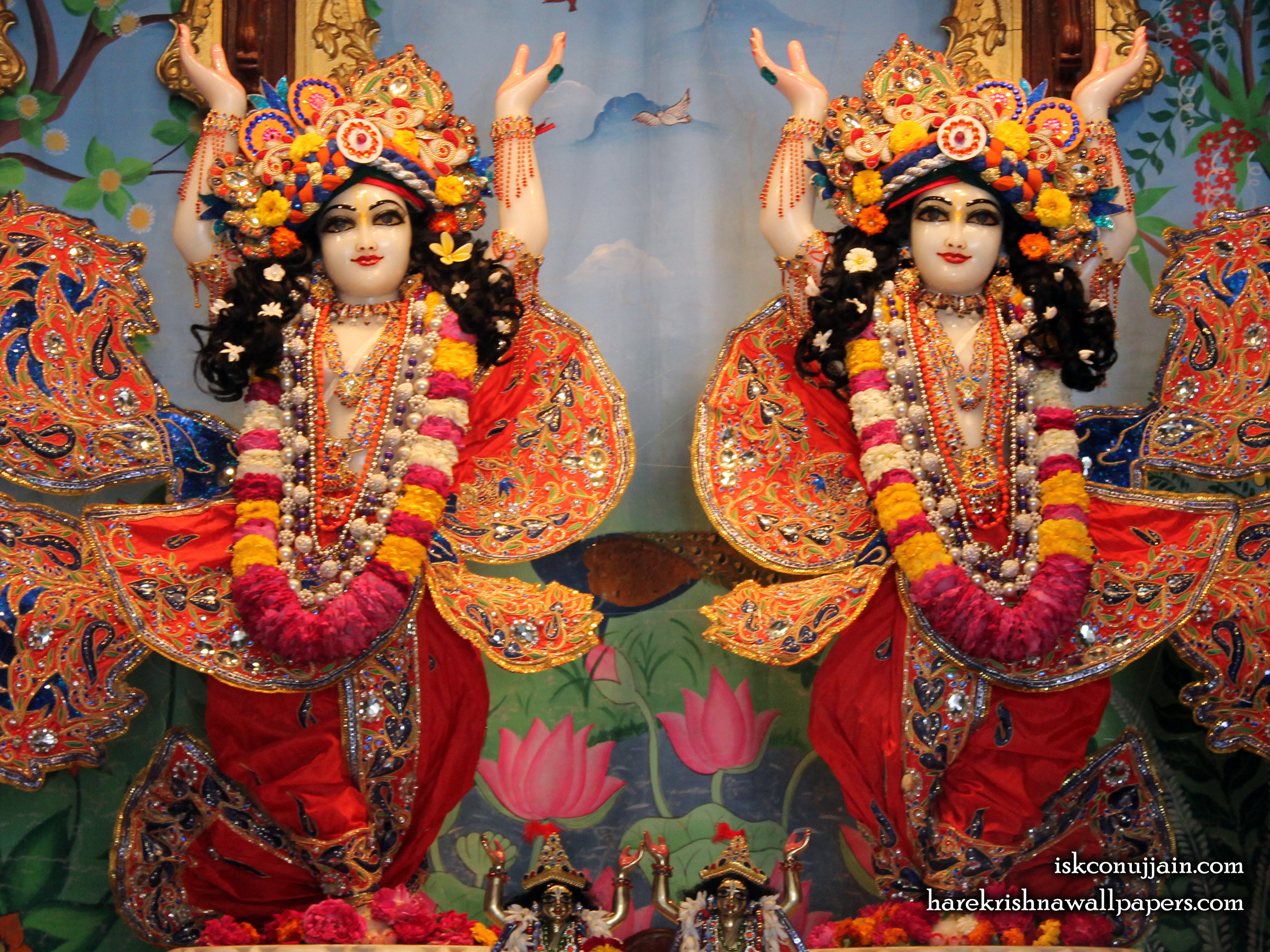 Sri Sri Gaura Nitai Wallpaper (003) Size 2400x1800 Download