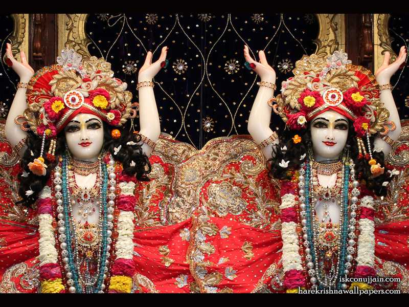 Sri Sri Gaura Nitai Close up Wallpaper (003)