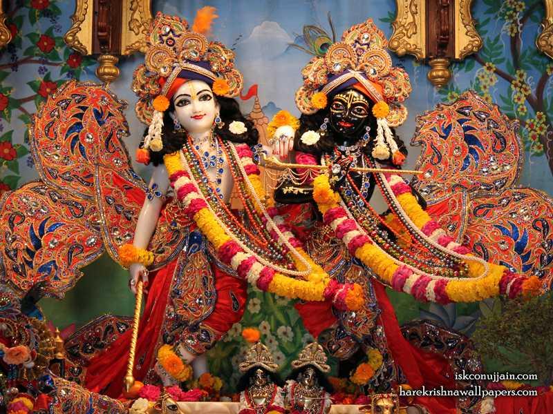 Sri Sri Krishna Balaram Wallpaper (003)