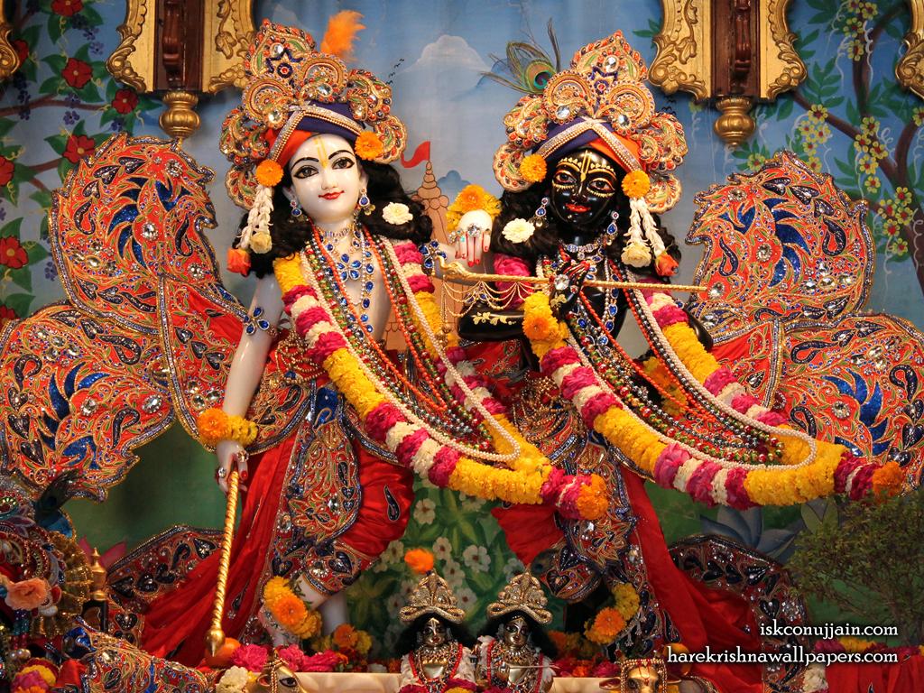 Sri Sri Krishna Balaram Wallpaper (003) Size 1024x768 Download