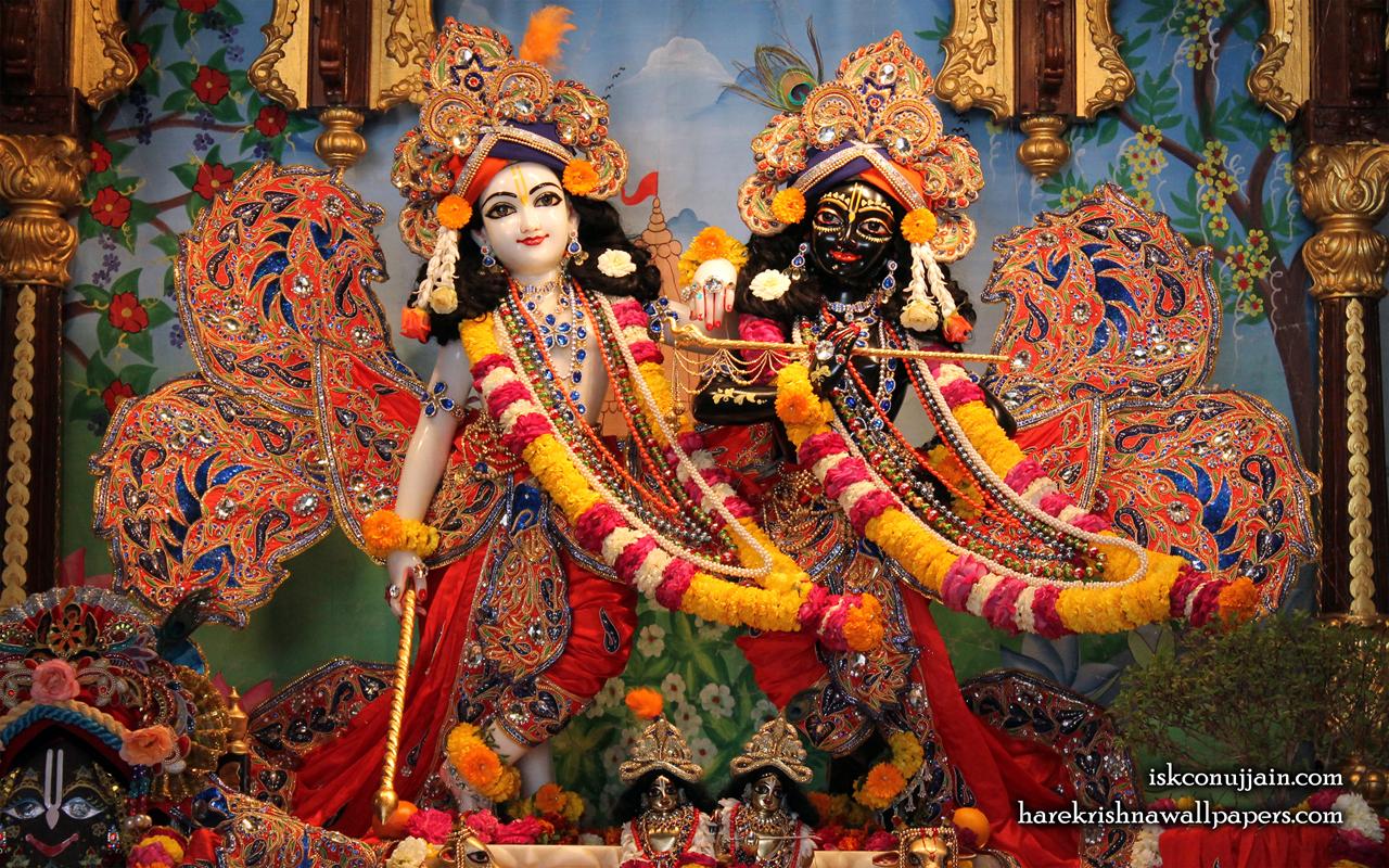 Sri Sri Krishna Balaram Wallpaper (003) Size 1280x800 Download