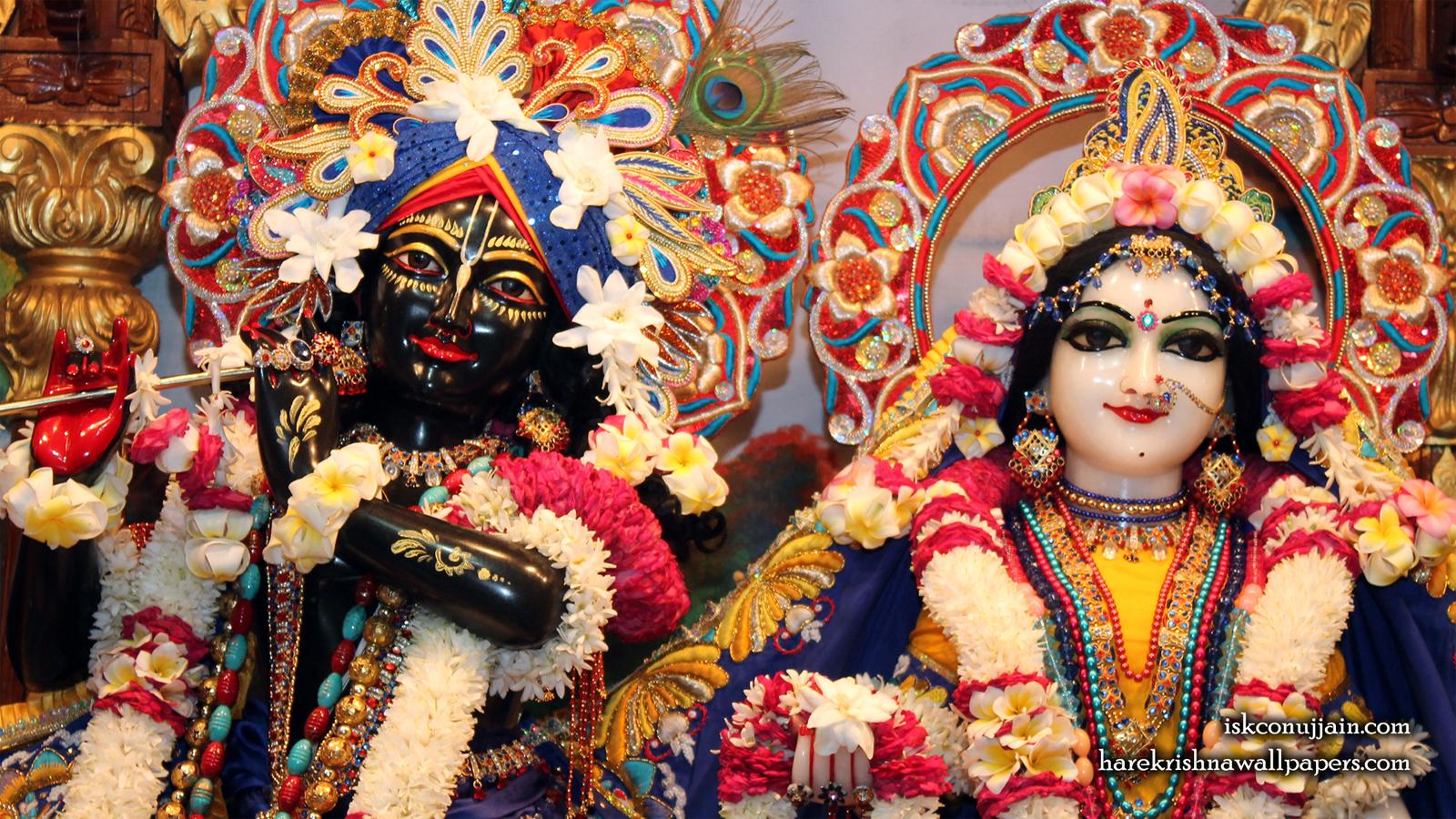 Sri Sri Radha Madanmohan Close up Wallpaper (003) Size 1600x900 Download