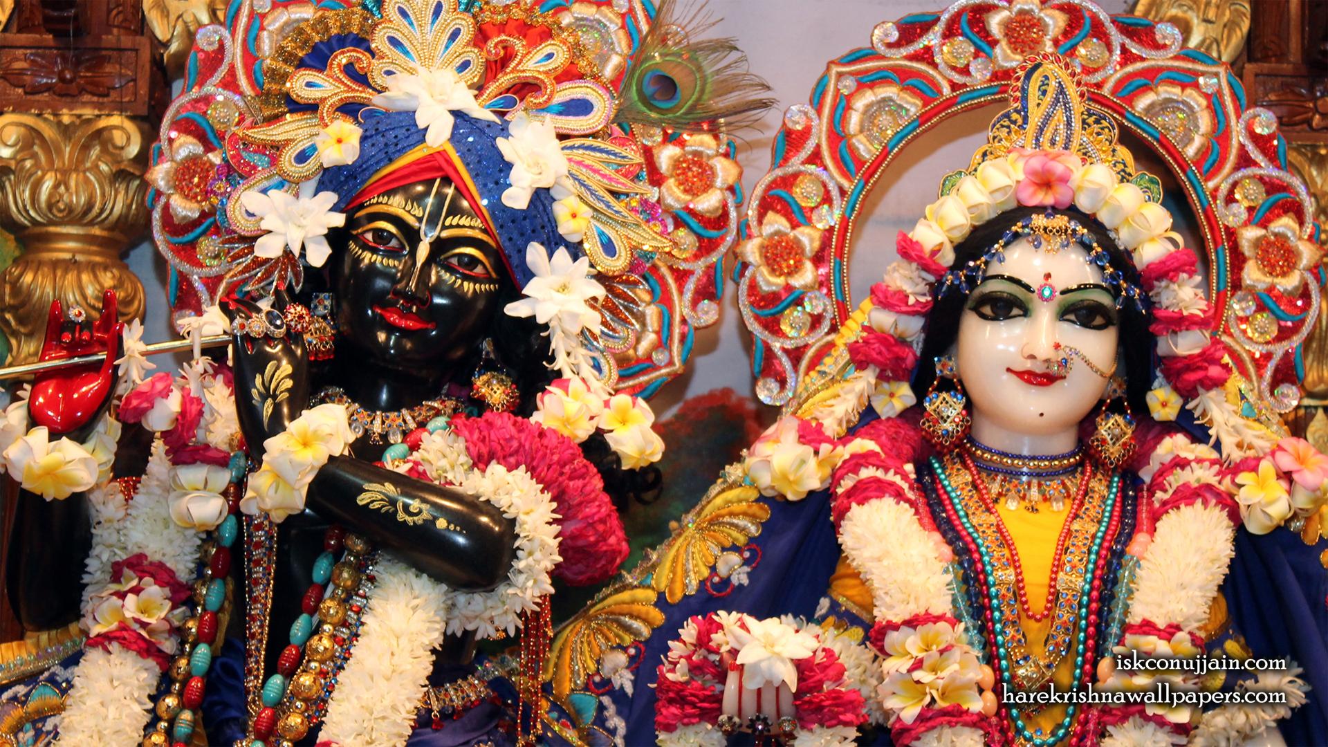 Sri Sri Radha Madanmohan Close up Wallpaper (003) Size 1920x1080 Download