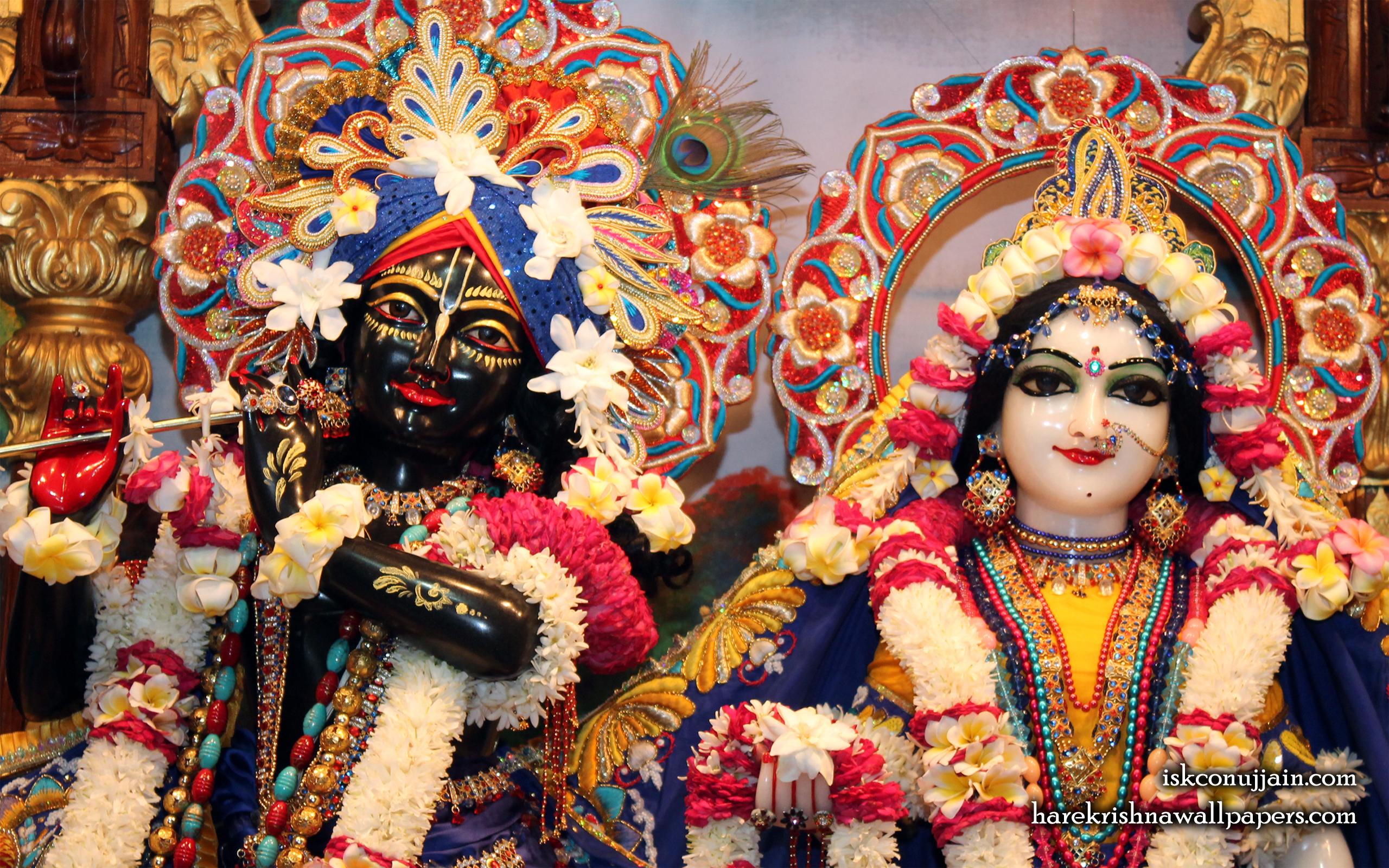 Sri Sri Radha Madanmohan Close up Wallpaper (003) Size 2560x1600 Download