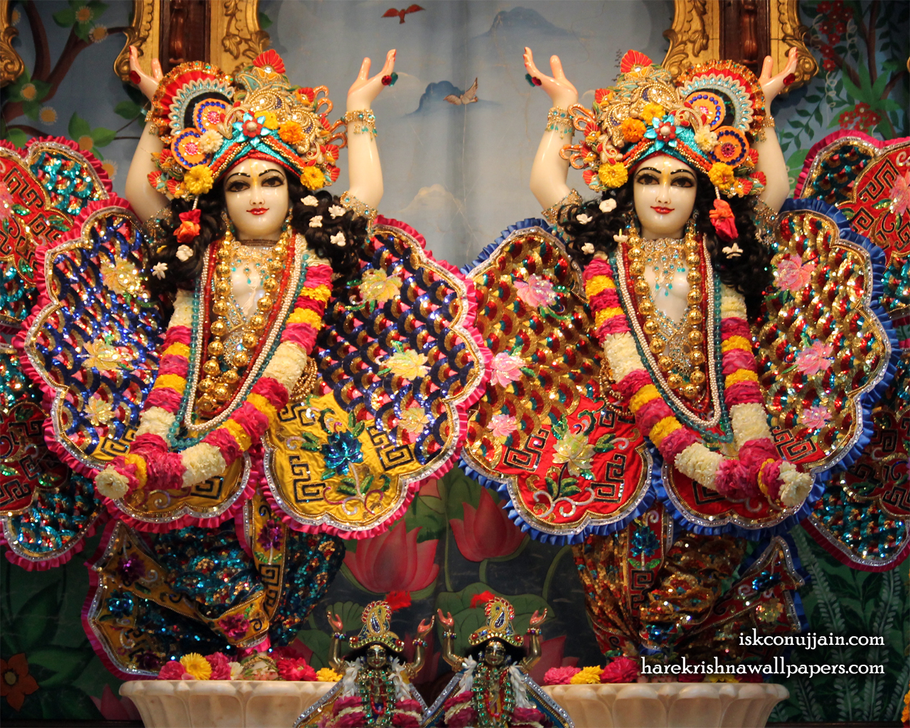 Sri Sri Gaura Nitai Wallpaper (004) Size 1280x1024 Download