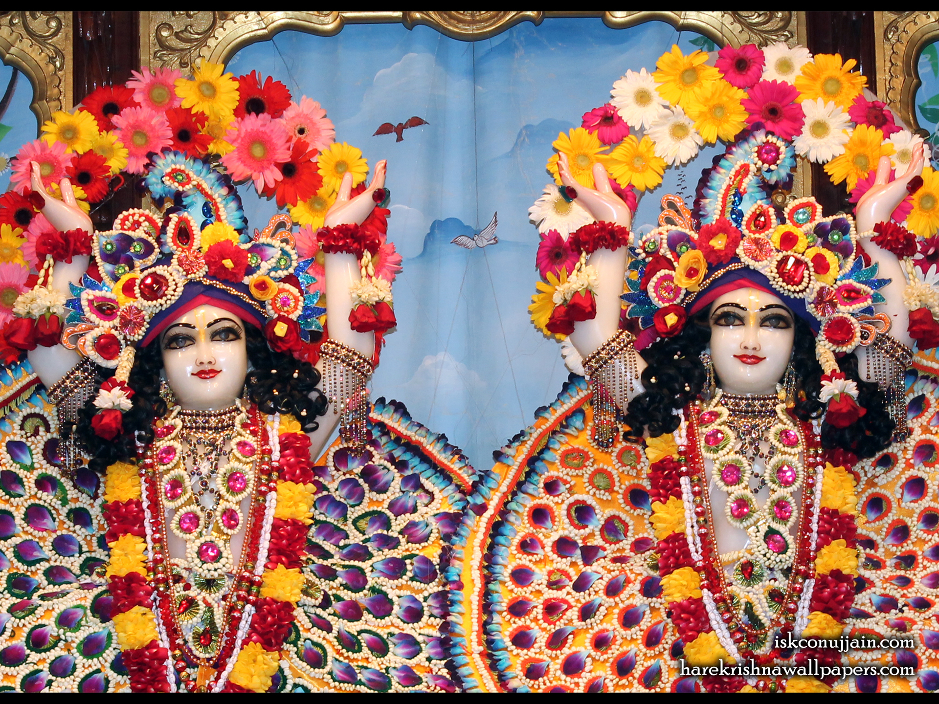 Sri Sri Gaura Nitai Close up Wallpaper (004) Size 1920x1440 Download