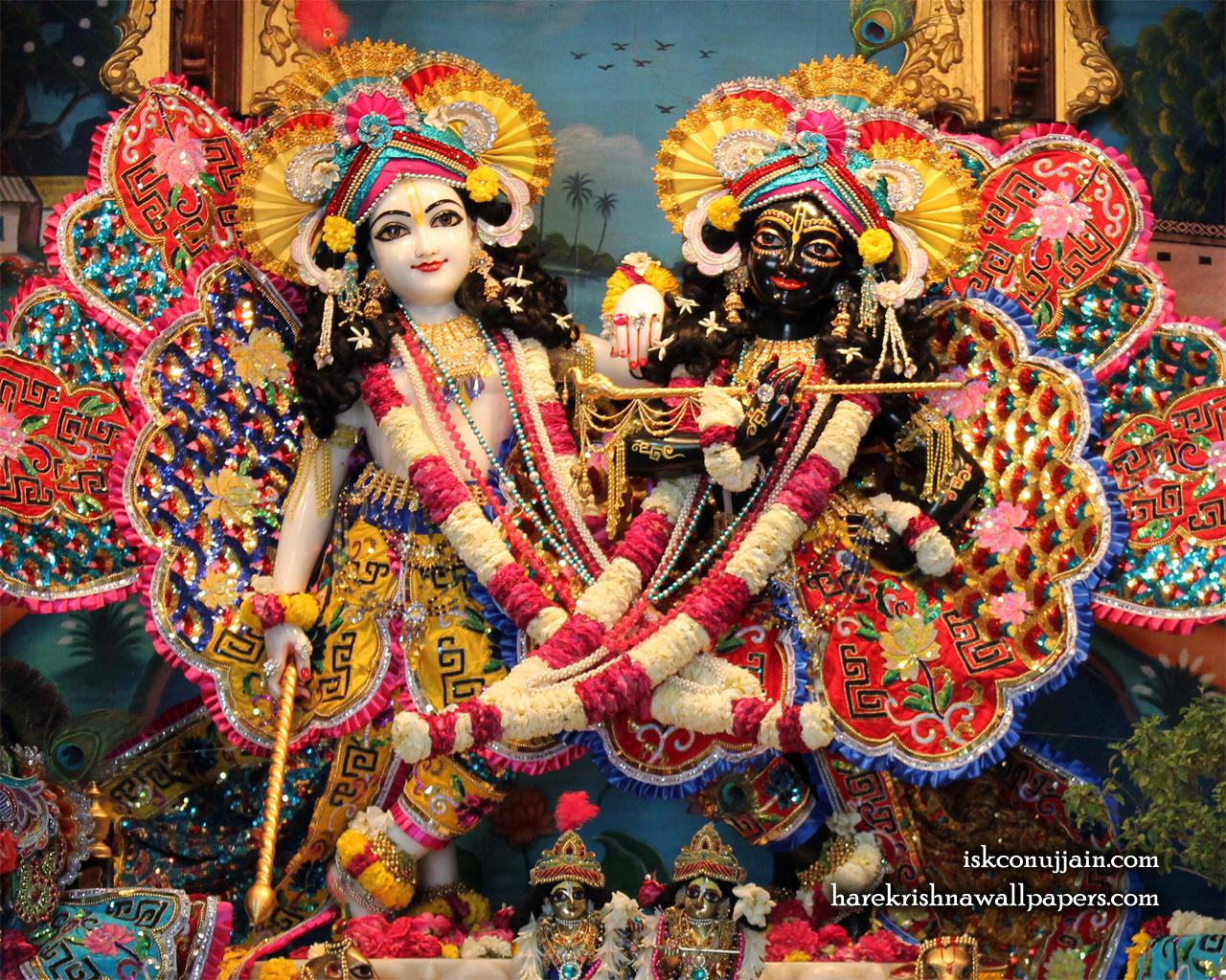 Sri Sri Krishna Balaram Wallpaper (004) Size 1280x1024 Download