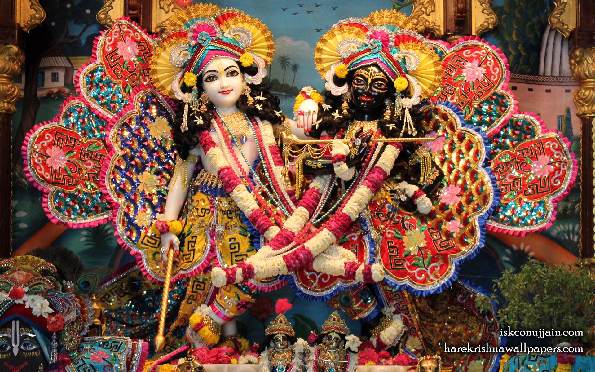 Sri Sri Krishna Balaram Wallpaper (004) Size 1920x1200 Download