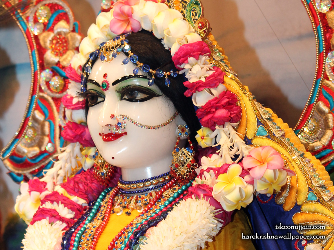 Sri Radha Close up Wallpaper (005) Size 1152x864 Download