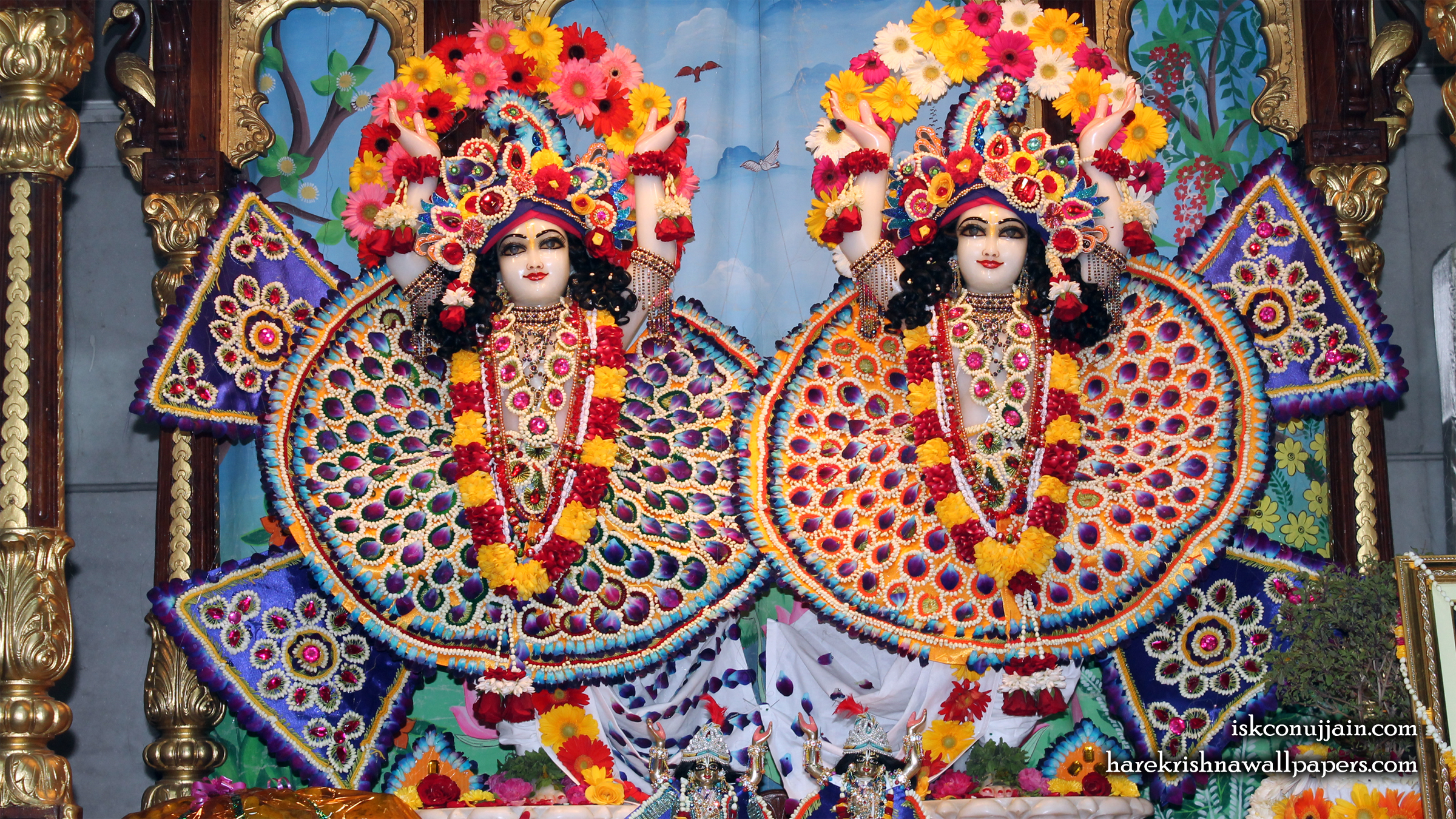 Sri Sri Gaura Nitai Wallpaper (005) Size 2400x1350 Download