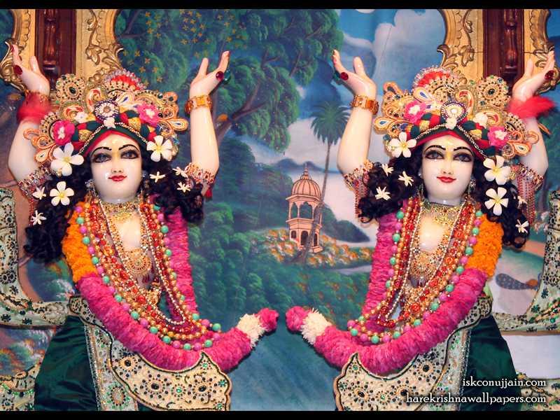 Sri Sri Gaura Nitai Close up Wallpaper (005)