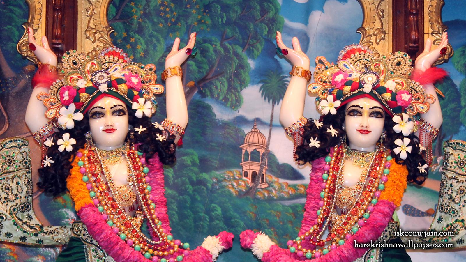 Sri Sri Gaura Nitai Close up Wallpaper (005) Size 1600x900 Download
