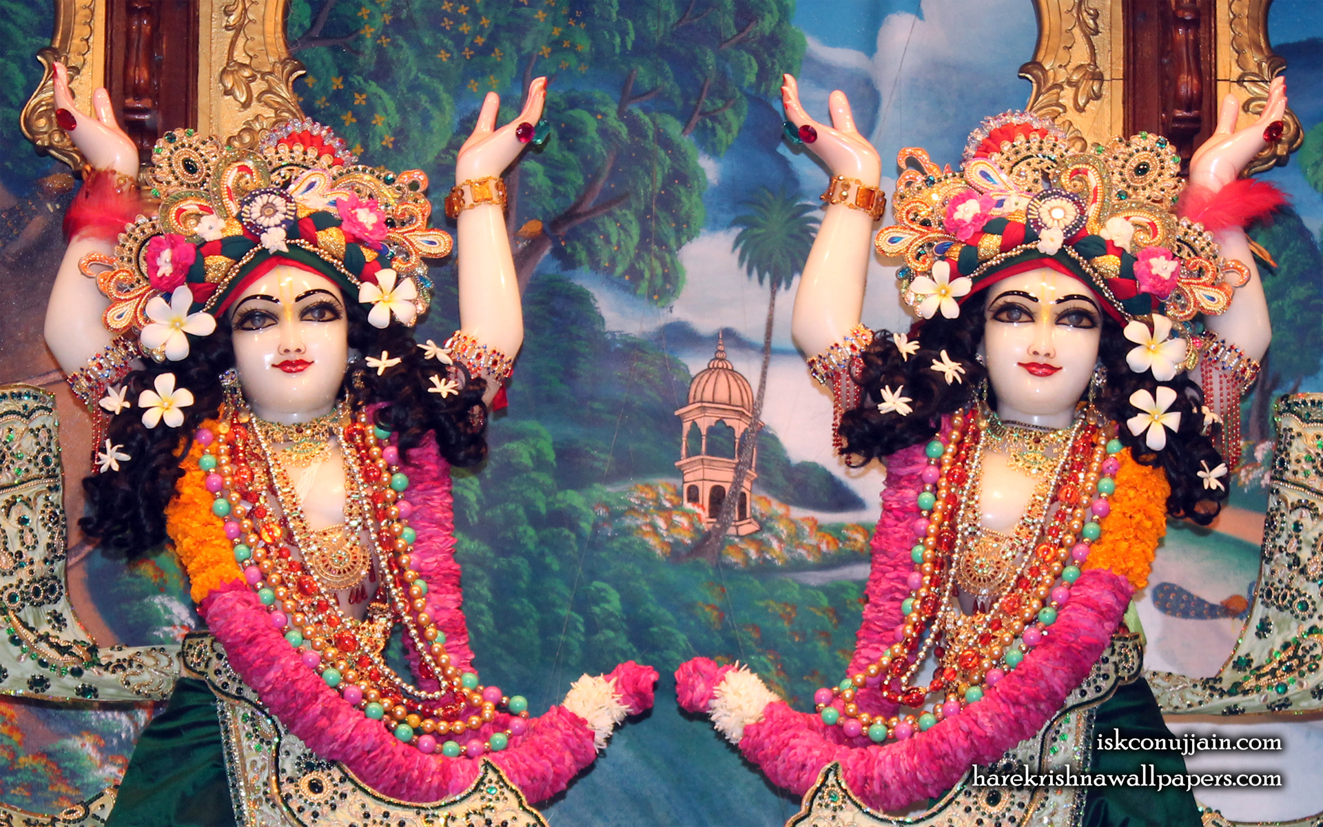 Sri Sri Gaura Nitai Close up Wallpaper (005) Size 1920x1200 Download