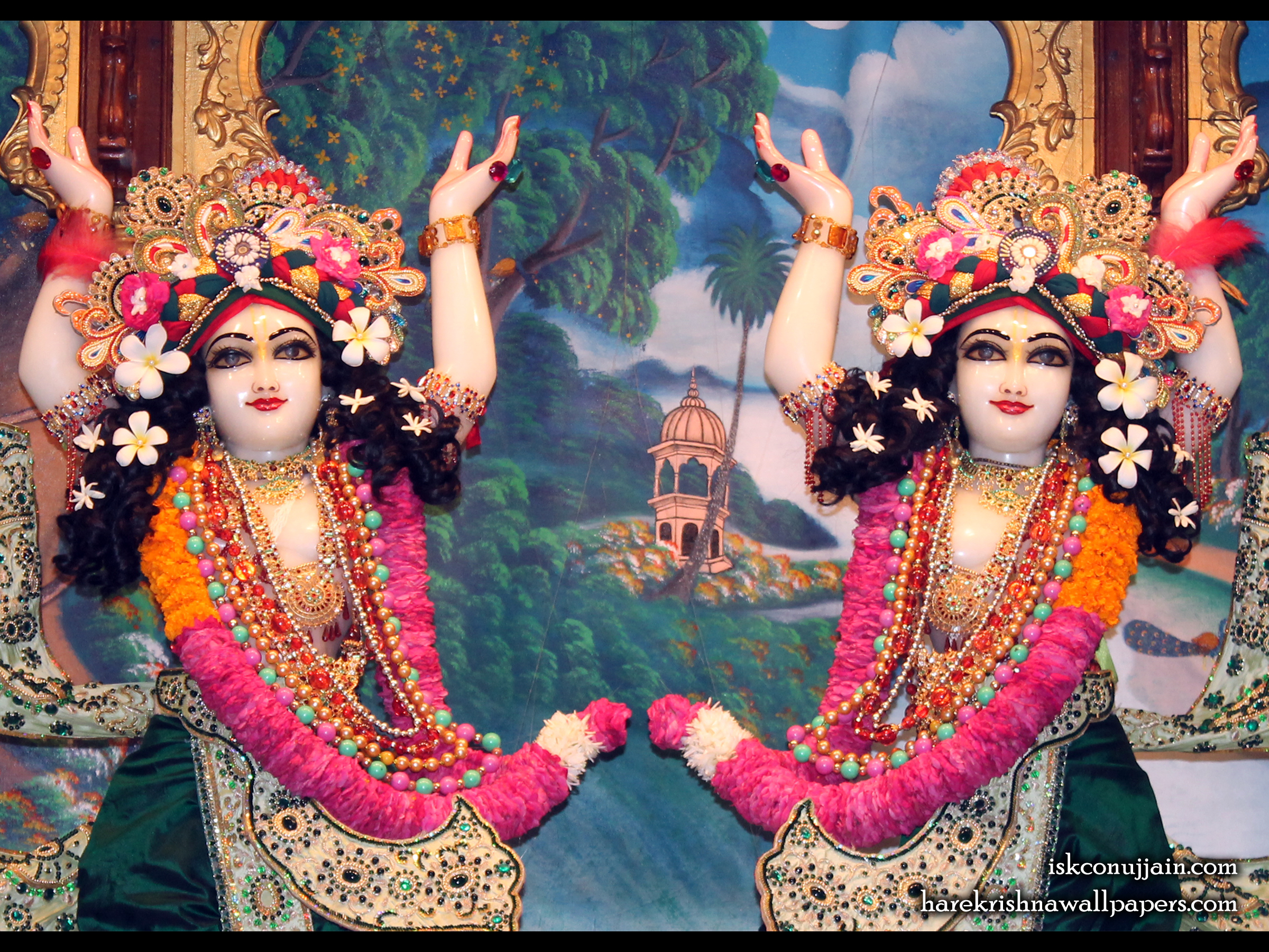 Sri Sri Gaura Nitai Close up Wallpaper (005) Size 2400x1800 Download