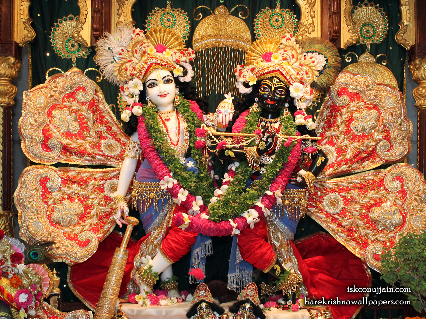 Sri Sri Krishna Balaram Wallpaper (005) Size 1400x1050 Download