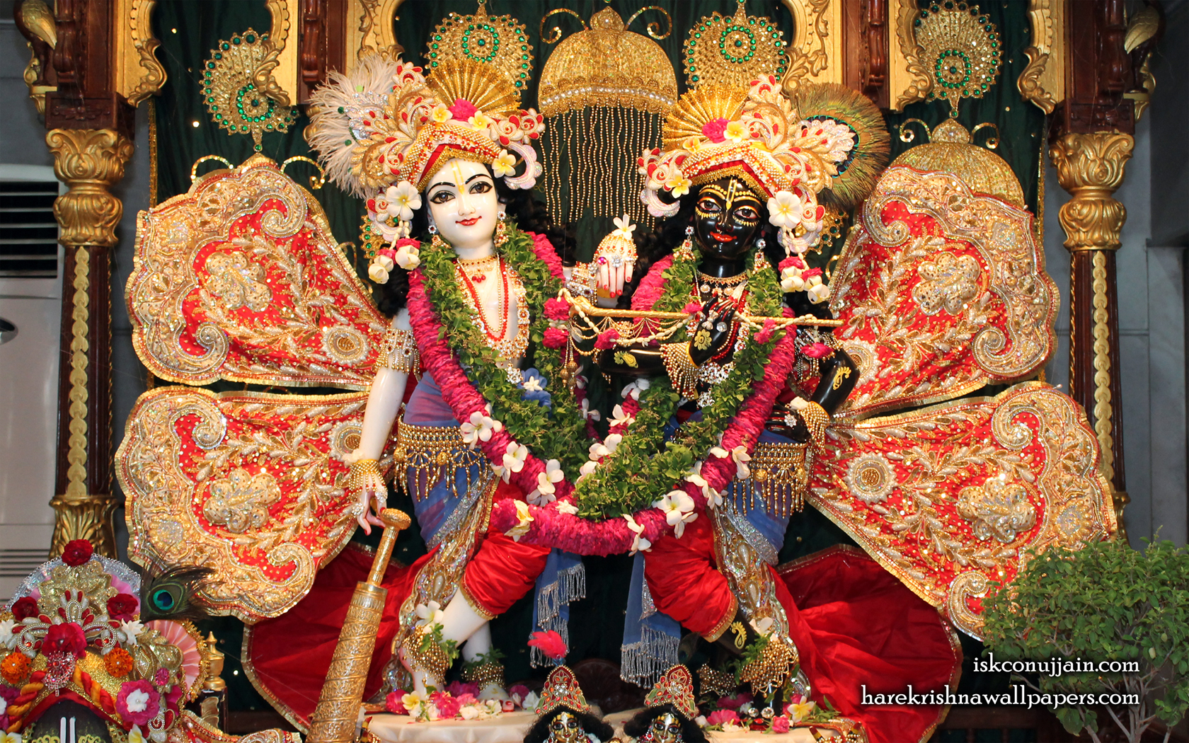 Sri Sri Krishna Balaram Wallpaper (005) Size 1680x1050 Download