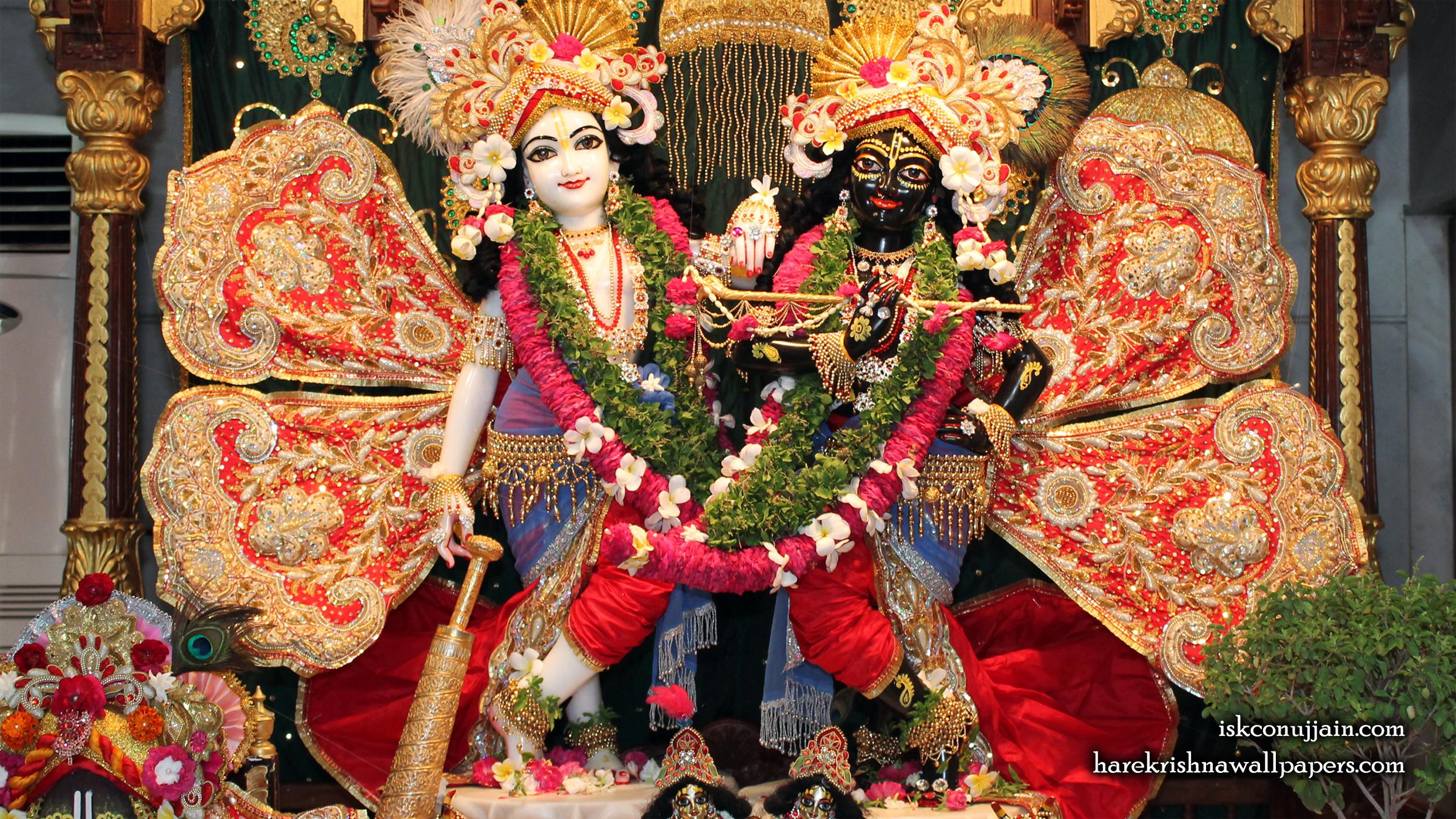 Sri Sri Krishna Balaram Wallpaper (005) Size 2400x1350 Download
