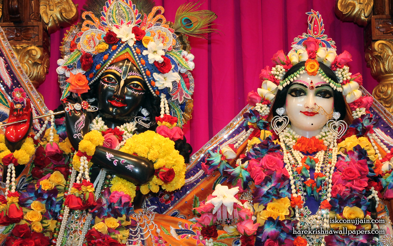Sri Sri Radha Madanmohan Close up Wallpaper (005) Size 1280x800 Download