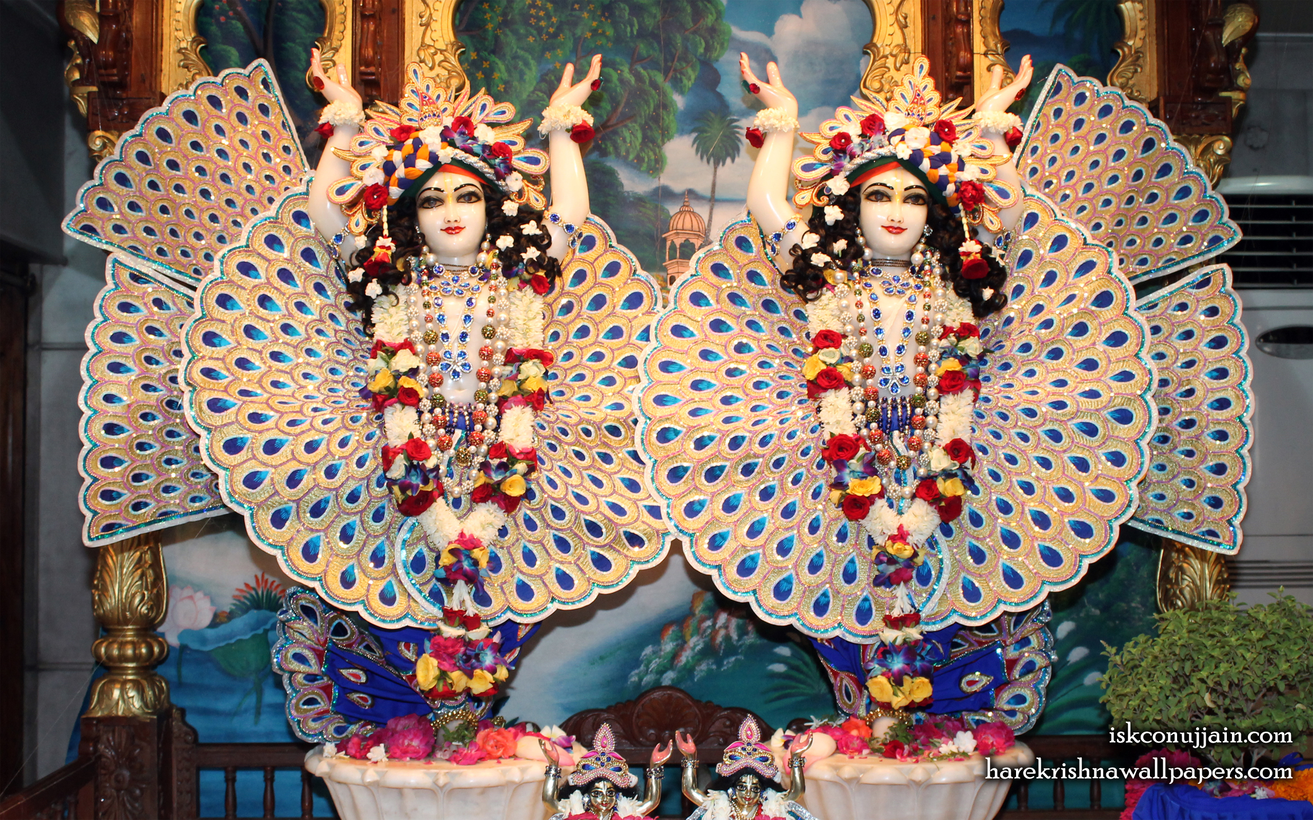Sri Sri Gaura Nitai Wallpaper (006) Size 2560x1600 Download