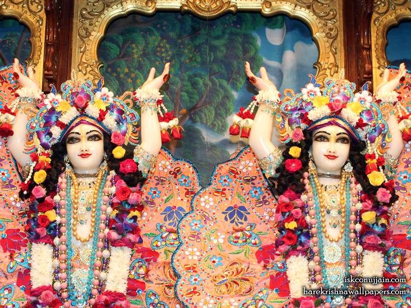 Sri Sri Gaura Nitai Close up Wallpaper (006)