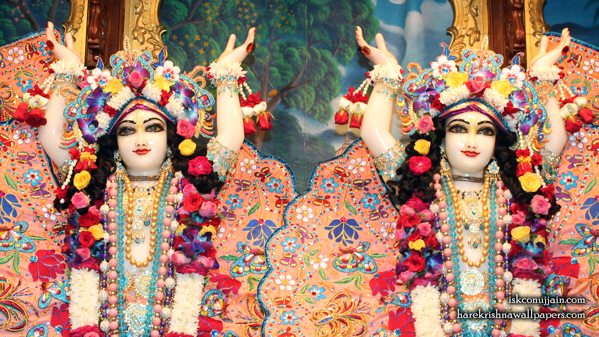 Sri Sri Gaura Nitai Close up Wallpaper (006) Size 1920x1080 Download