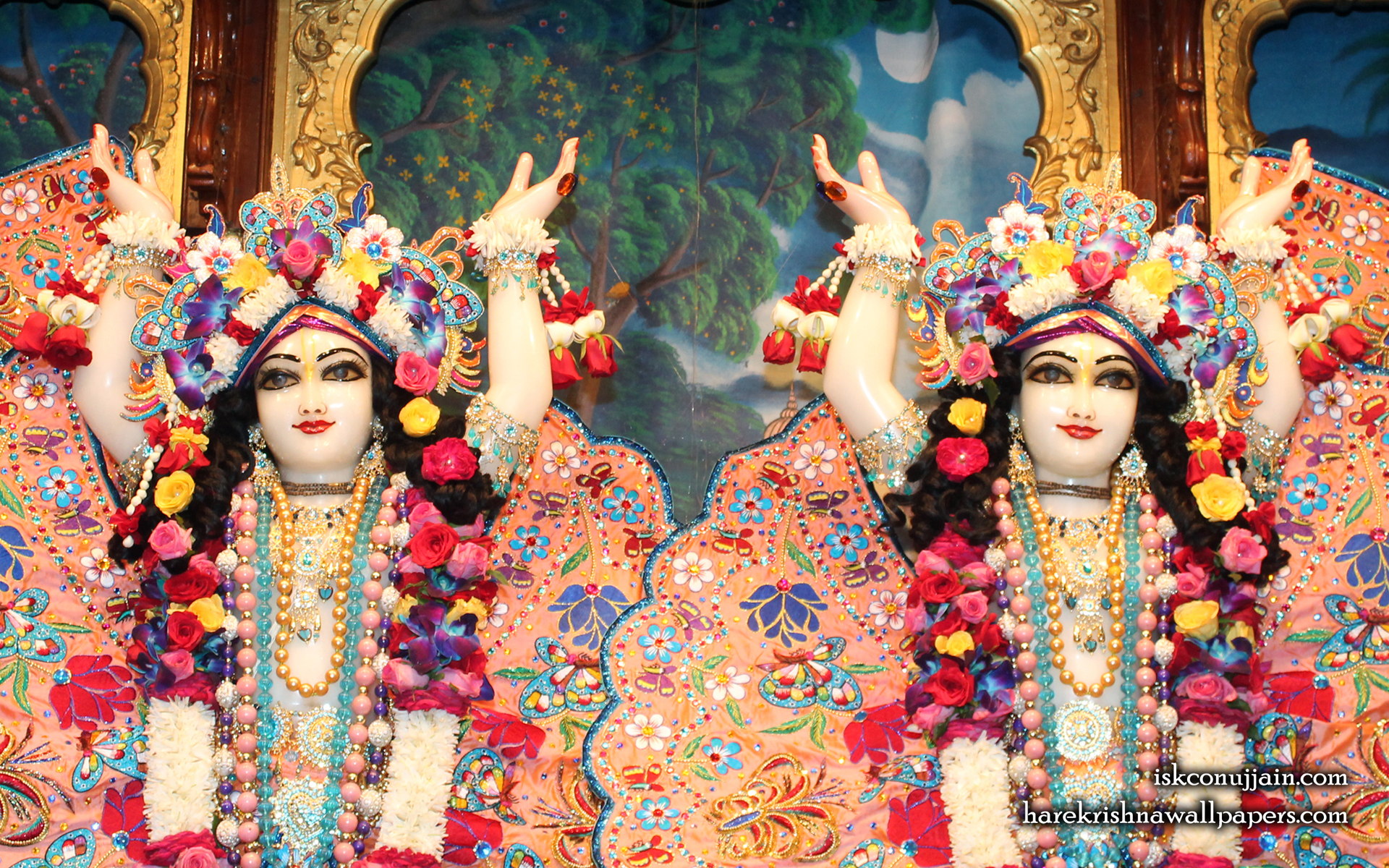 Sri Sri Gaura Nitai Close up Wallpaper (006) Size 1920x1200 Download