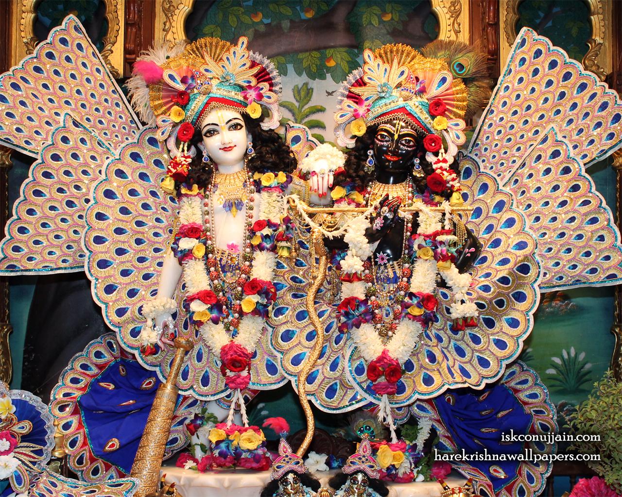 Sri Sri Krishna Balaram Wallpaper (006) Size 1280x1024 Download