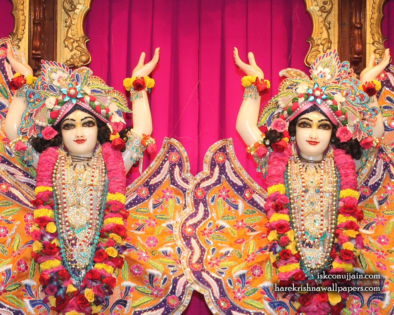 Sri Sri Gaura Nitai Close up Wallpaper (007) Size 1280x1024 Download