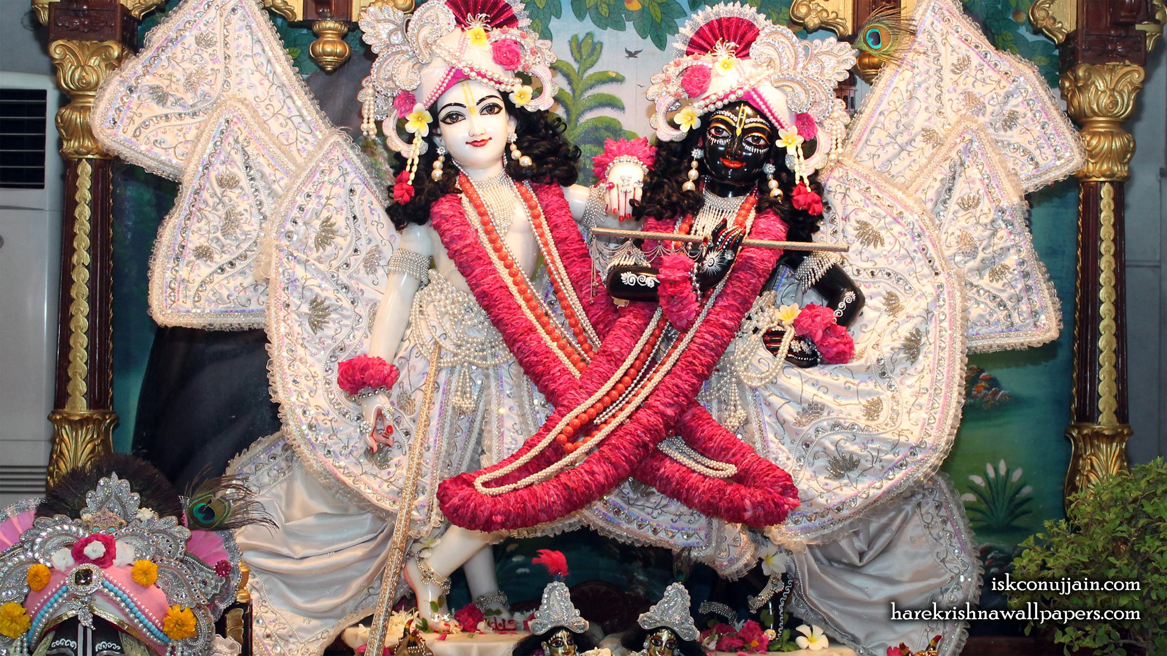 Sri Sri Krishna Balaram Wallpaper (007) Size 2400x1350 Download